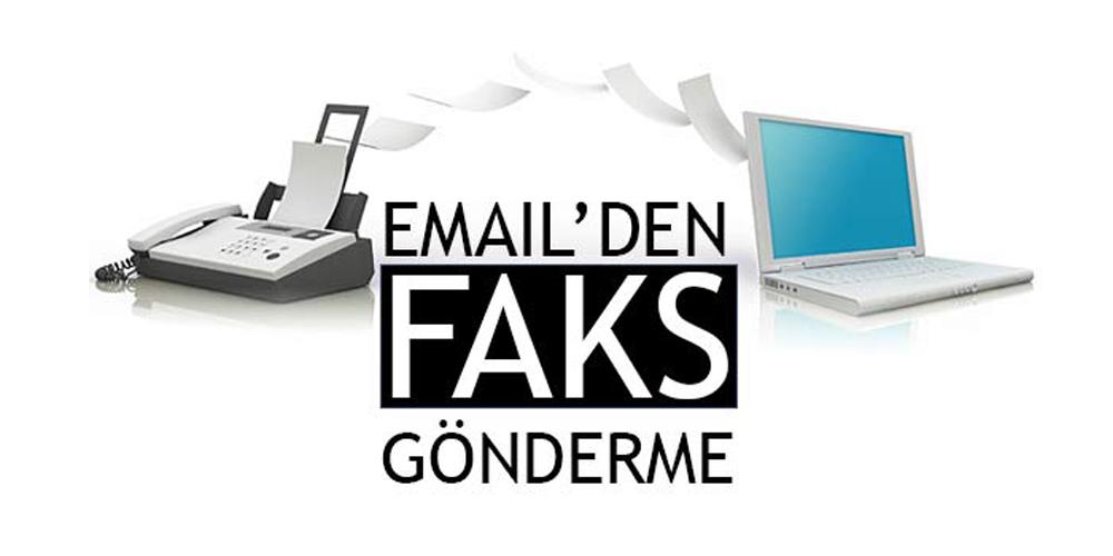 E-posta ile faks gönderme
